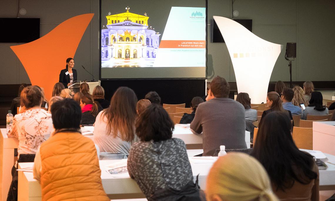 Interessantes Vortragsprogramm Im LOCATIONS-Forum sprechen Referenten aus Wirtschaft und Forschung zu interessanten Branchenthemen. Im Best-Practice-Forum erhalten die Besucher Tipps und Tricks von den Kennern der Branche - den Ausstellern der LOCATIONS-Messen.