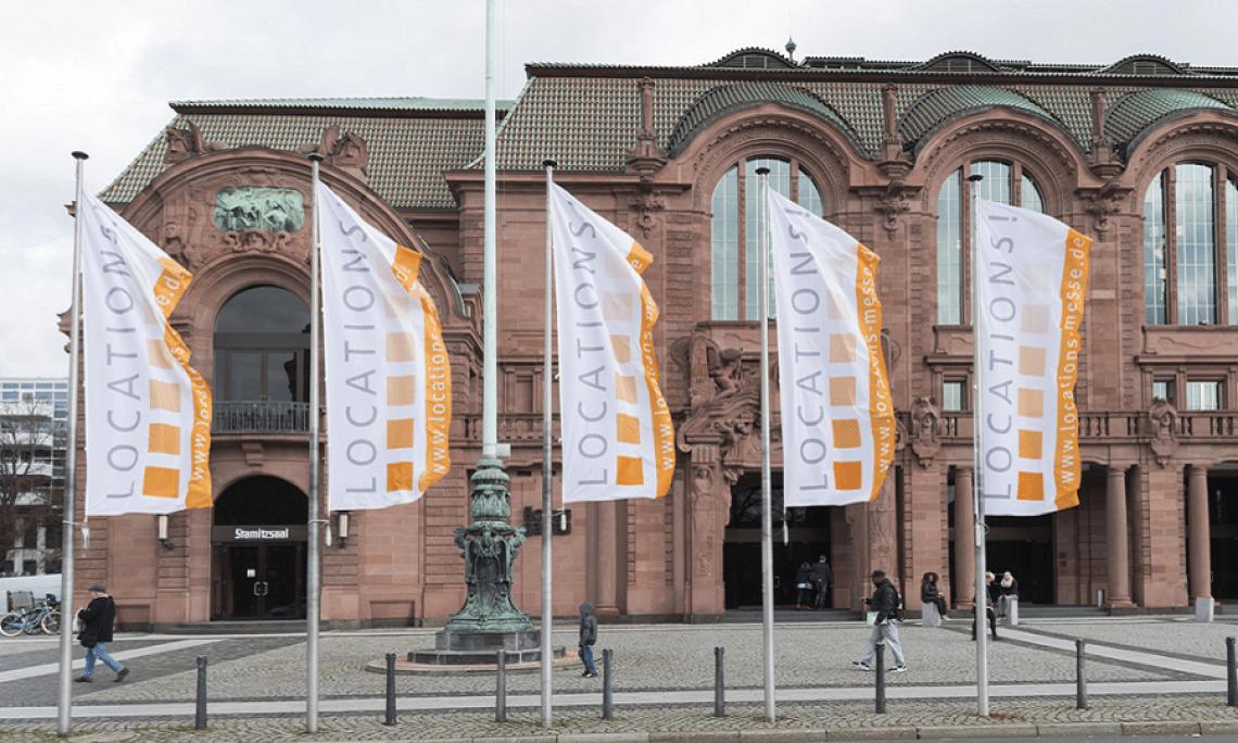 LOCATIONS in vier deutschen Metropolregionen Seit 2008 werden die LOCATIONS-Messen organisiert, die es mittlerweile in vier deutschen Metropolregionen gibt. Dazu zählen die Region Rhein-Neckar, Stuttgart, Rhein-Ruhr und Rhein-Main.