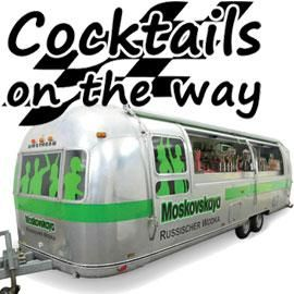 Cocktails on the way Die mobile Cocktailbar
