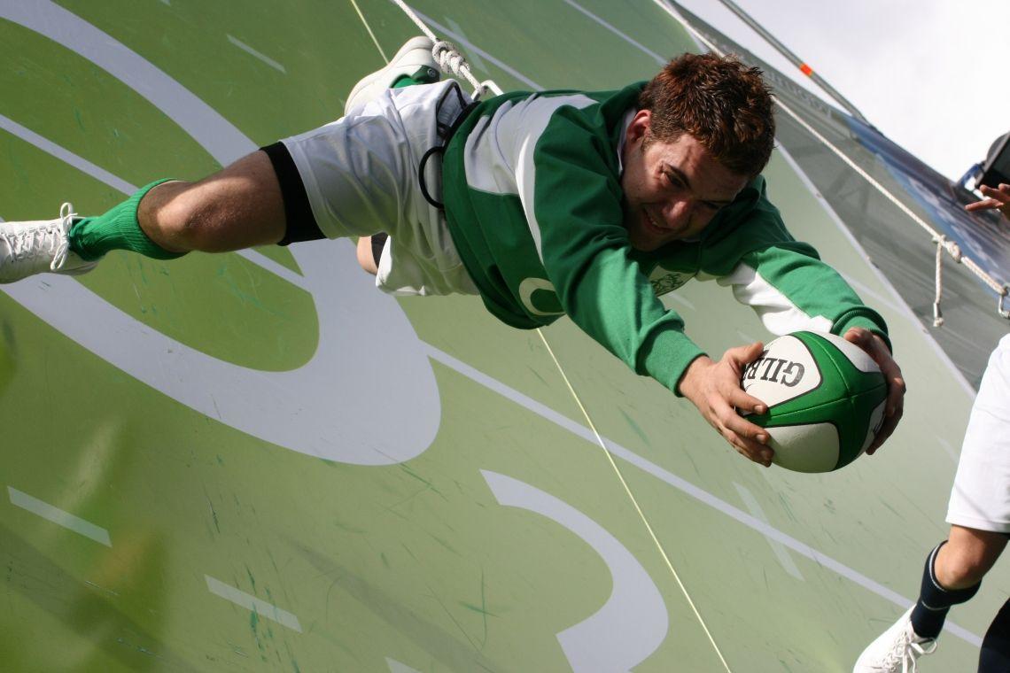 Vertical Sports Sport in der Vertikalen - eine neue Dimension und Aufmerksamkeitsstark