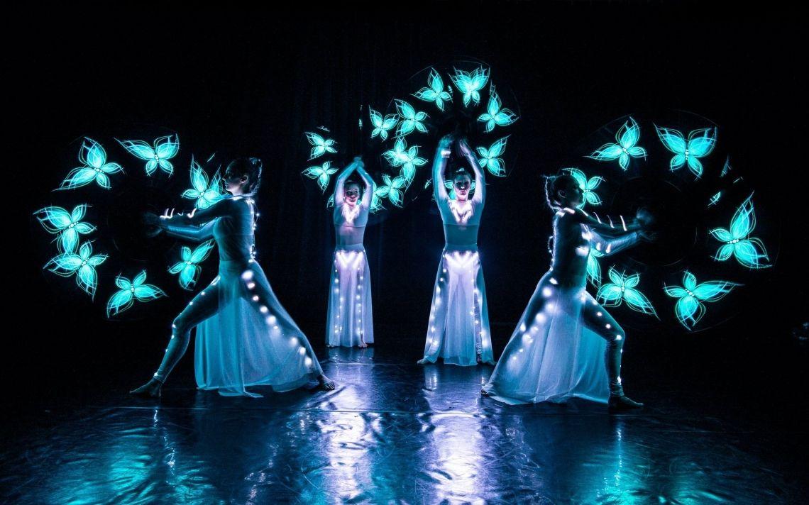 LED Light Show LED Light Show für Jubiläen,  Weihnachtsfeiern oder festliche Anlässe