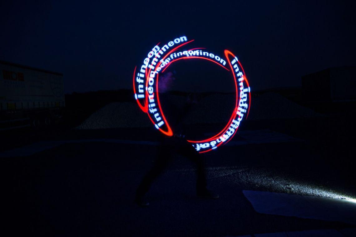 "0 LED-Show - ""visual Pois"""
