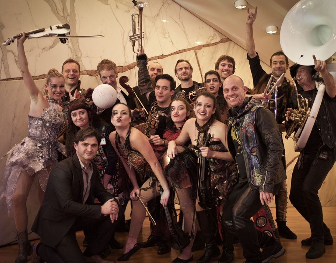 Berlin Show Orchestra Das Berlin Show Orchestra beim FAMAB Award