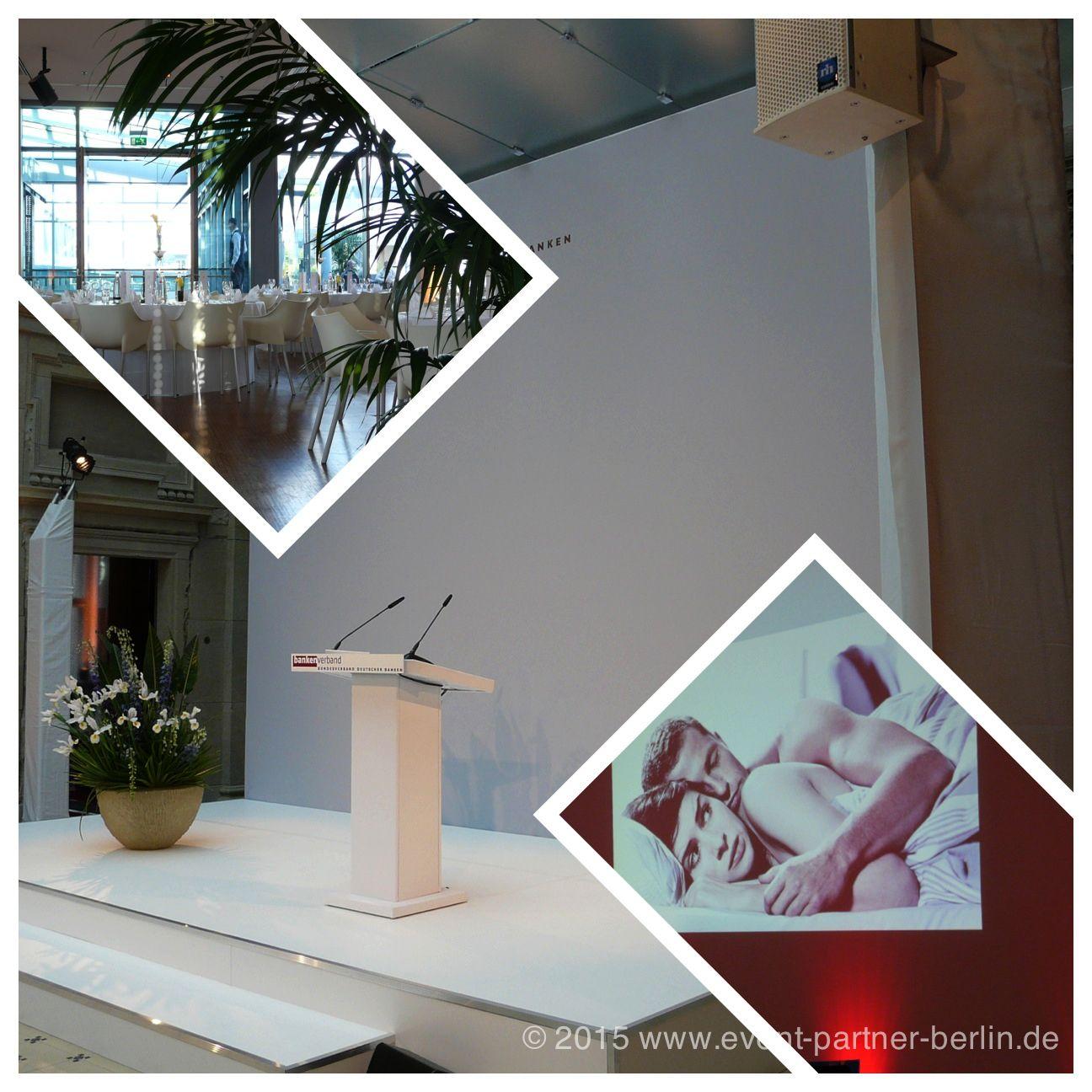 www.event-led.de Berlin Ja, es darf auch ein bisschen edler sein! Eine offene Bühne (Design Holger Kniggendorf für Artribute, Berlin) in der Akademie der Wissenschaften in Berlin, eine edle Hochzeitsfeier im Stilwerk und ein Branchentreffen der Filmschaffenden.