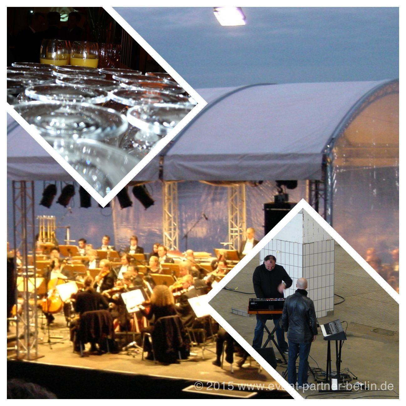 """www.event-led.de Berlin Wir lieben Musik! Hier einerseits klassische Musik auf dem Wasser in Brandenburg oder eine Videoaufnahme in einer alten Brauerei in Berlin für die Band """"Portishead"""" Danke für diese vielen tollen Aufträge!"""
