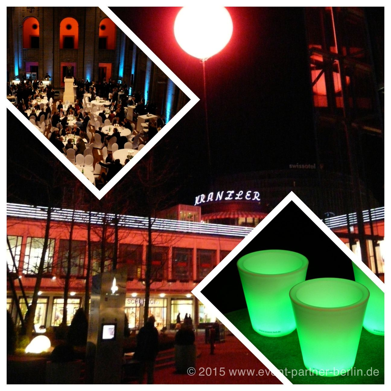 www.event-led.de Berlin Auch die normale Veranstaltungstechnik können Sie natürlich bei uns mieten. Hier AUfnahmen aus dem Stadthaus Berlin (Bärensaal) und dem Café Kranzler (jetzt Kranzler-Eck) Berlin.