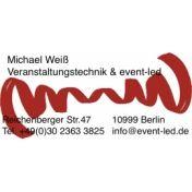 Michael Weiß  Veranstaltungstechnik & event-led.de
