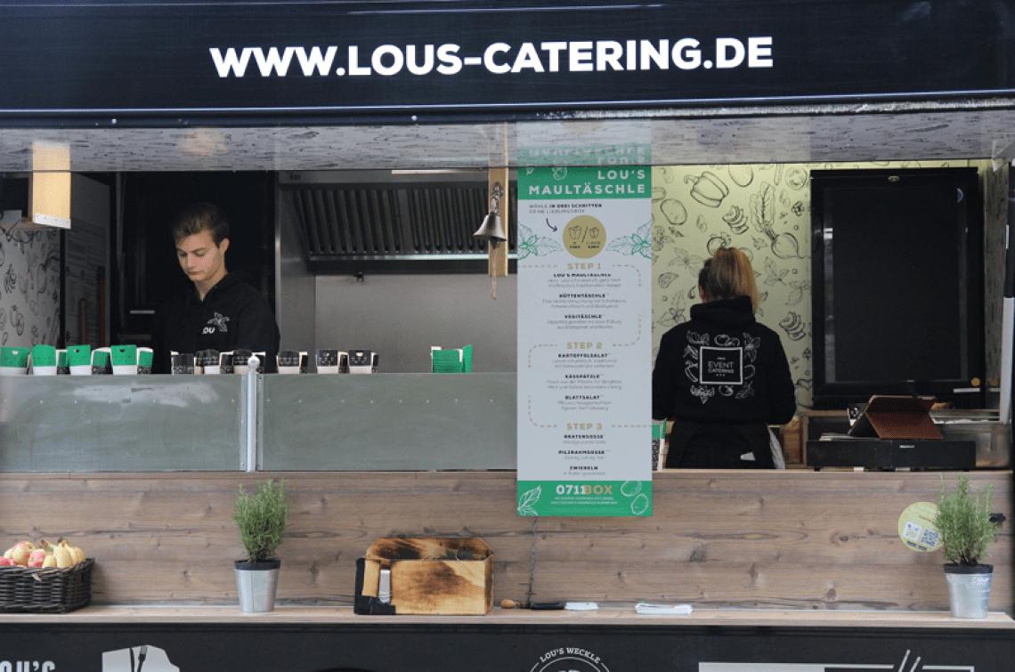 Lou's im Tagesgeschäft In den Mittagspausen sind wir in und um Stuttgart unterwegs