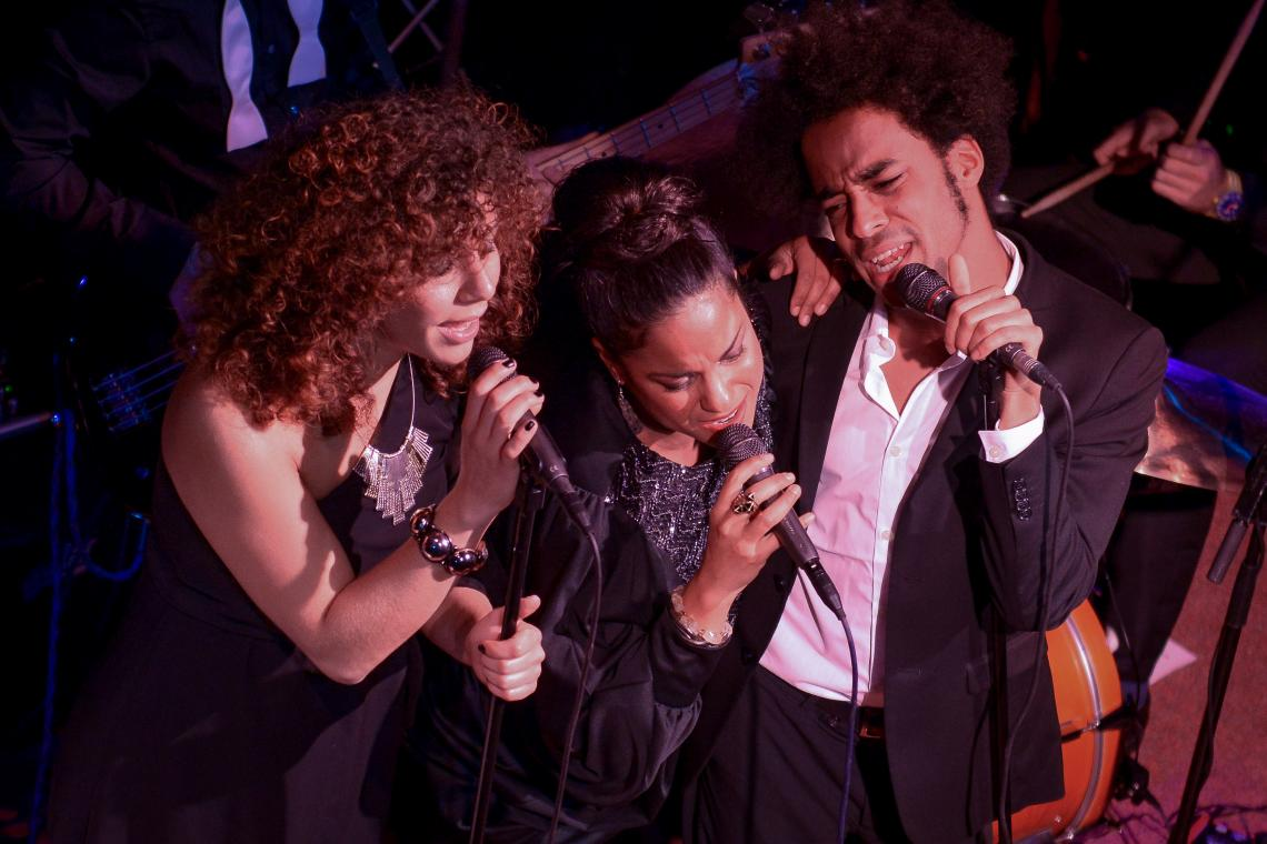 Edita, Nicole & Jeffrey mit KKCB