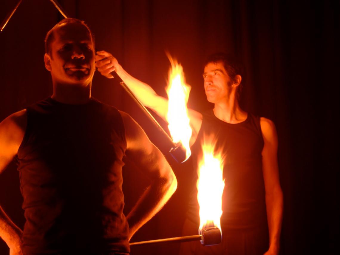 Drauf & Dran: Feuershow