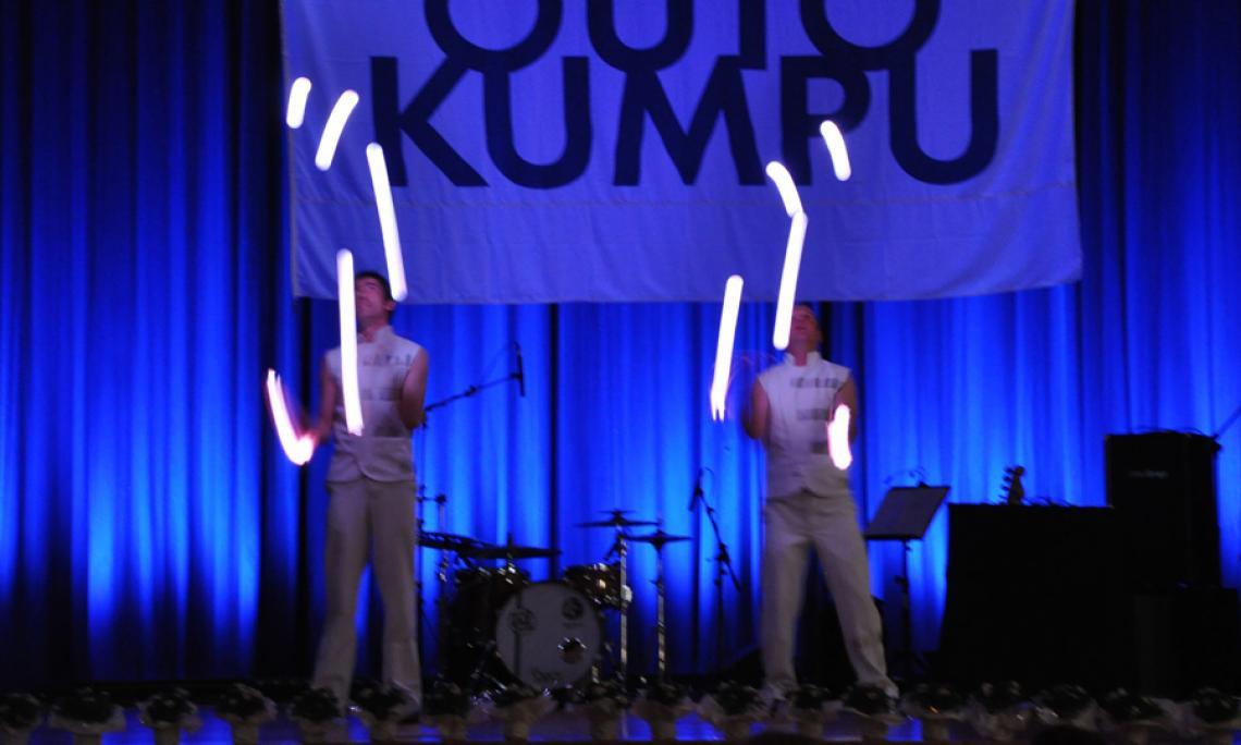 Drauf & Dran: Lichtshow LED-Bälle