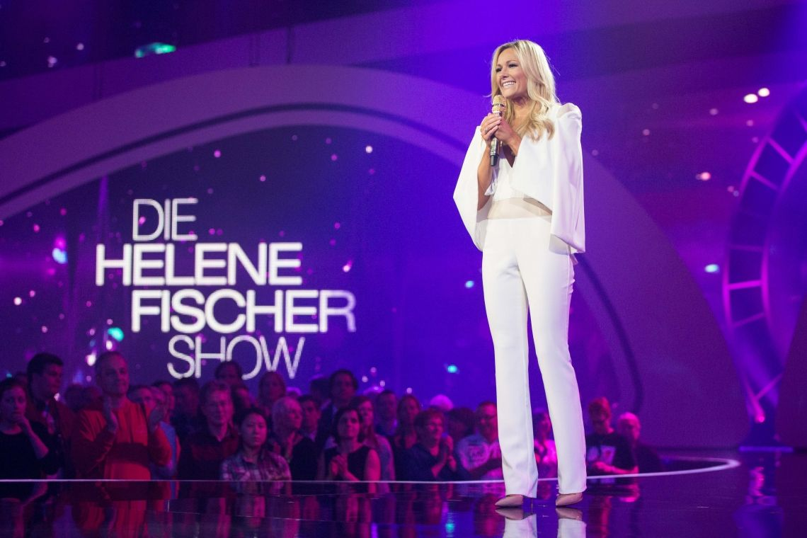 Helene Fischer show with Drum Formation