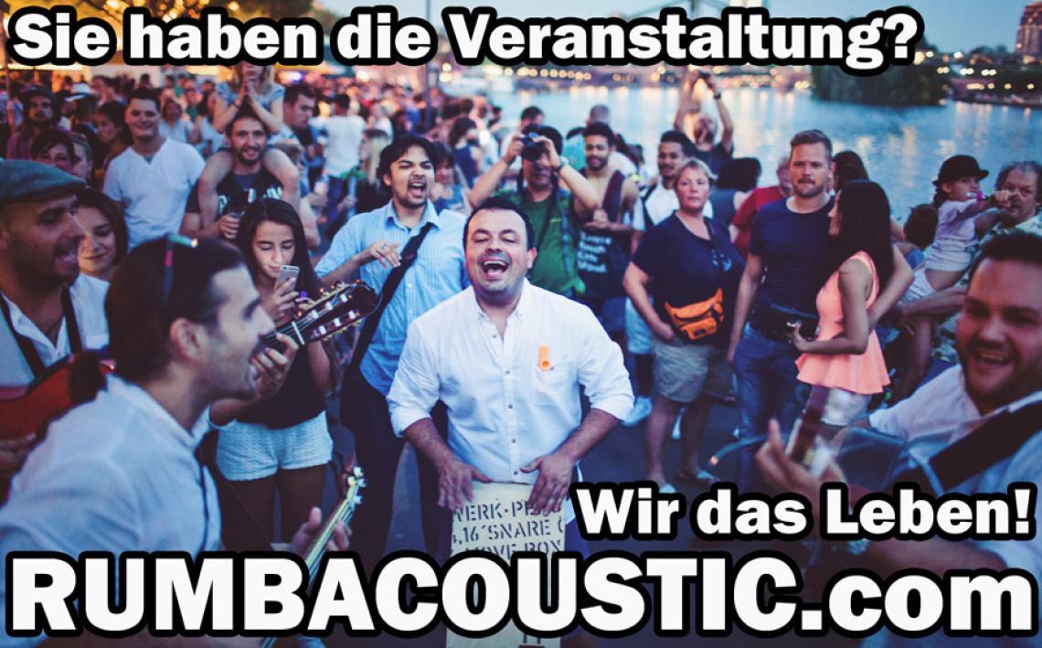 RUMBACOUSTIC - Und das Publikum spielt mit!