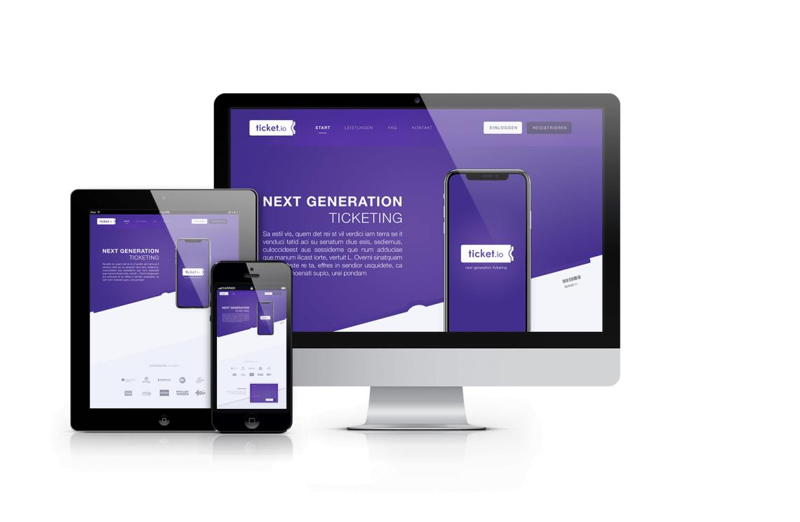 Website Integration und Mobile Responsive Ansicht MobileFirst-Optimierung für komfortable Buchungen via mobilem Endgerät