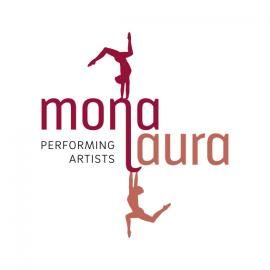 monalaura - performing artists Duo-Vertikaltuch und Cube-Performance