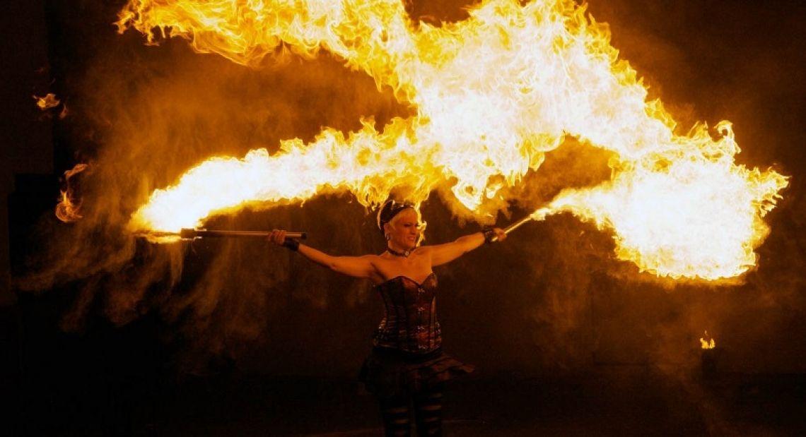 Fire ! Wir mögen es heiß ! Foto: Ernst Winkler