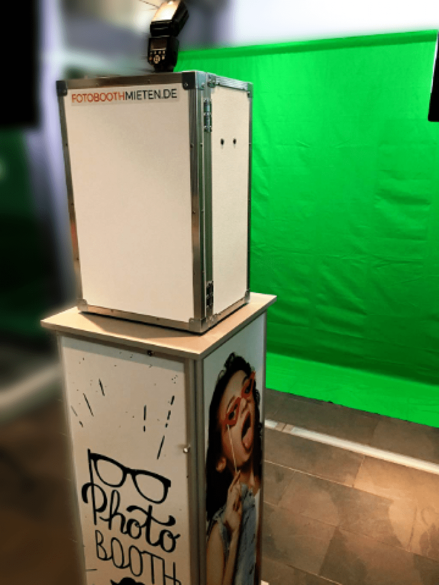 Fotobox mit Greenscreen Nahezu keine Grenzen gibt es mit der Fotobox und Greenscreen