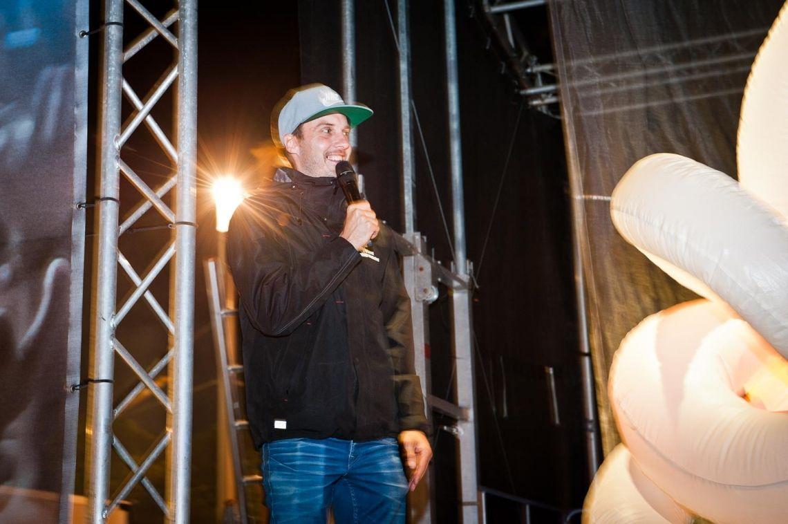 Einsatz als Moderator bei einer Veranstaltung
