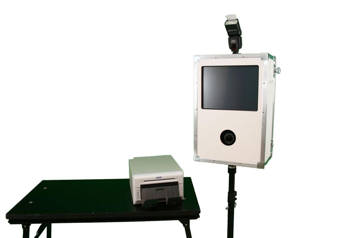 Fotobox mit Sofort-Druck der Fotos