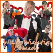 Willy Wichtig - Comedy Humor-Fachkraft für Tagung, Messe, Event