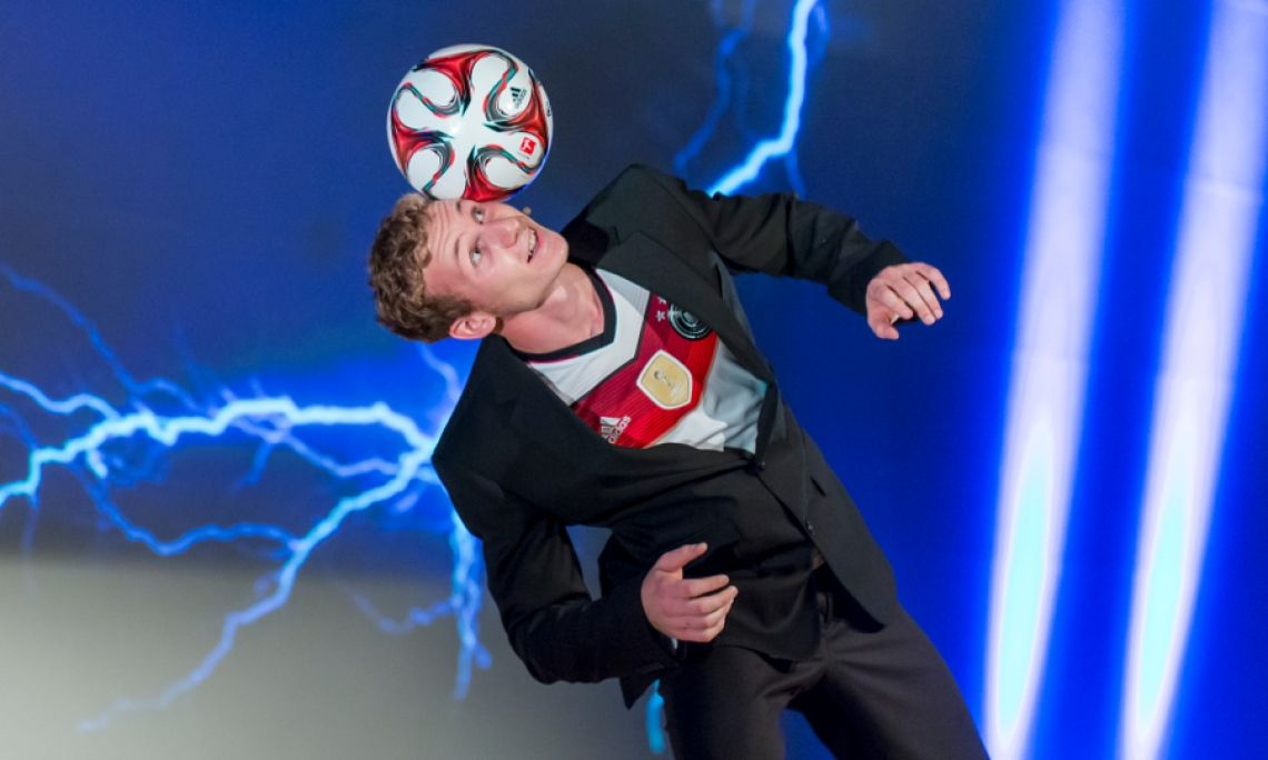 Fußball-Comedy Business Event Schweiz