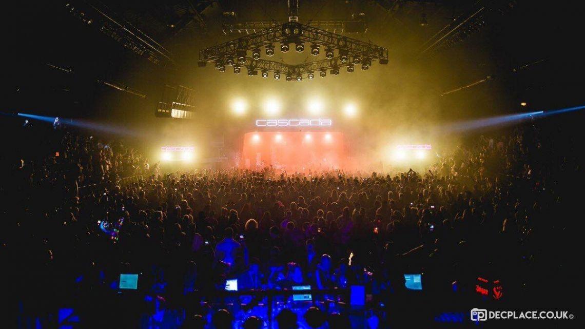 Cascada Live Show  Bühnen Choreografie und Tänzercast