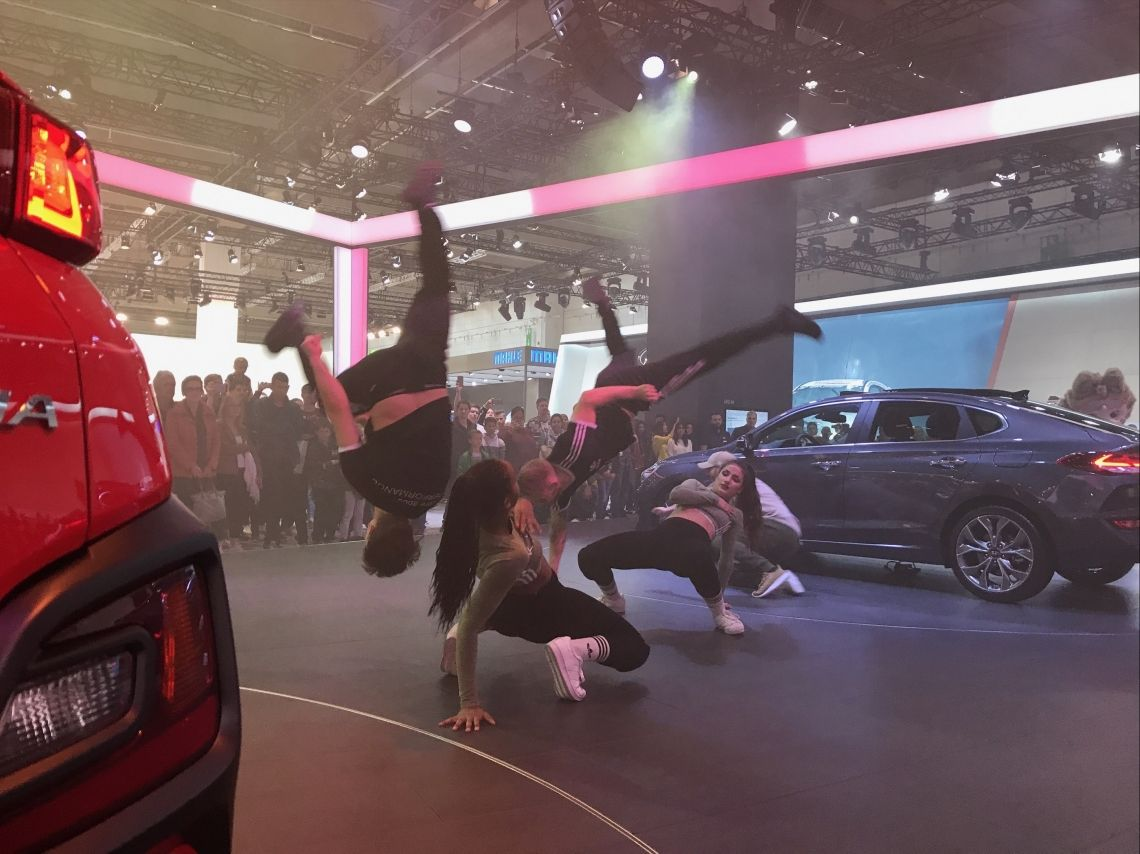 Messeshows IAA Hyundai Messe Show