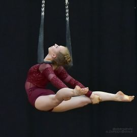 Andrea Matousek - Aerialist Dance Trapeze