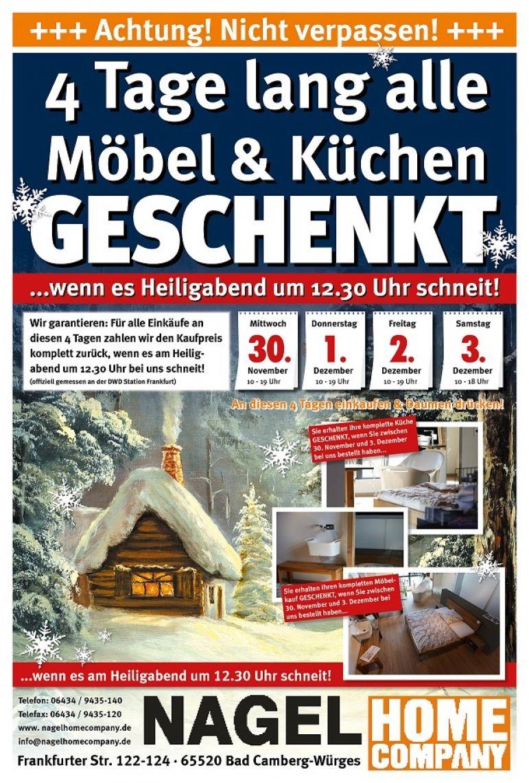 """Schneewette mit großem Erfolg Besondere Tage wecken ganz besondere Emotionen von Glück. Die weiße Weihnacht steht in Deutschland auf Platz 1. Große Gefühle ermöglichen tolle Werbeimpulse. Wenn es schneit """"Gratis - Einkaufen"""""""