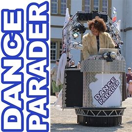 Dance Parader The worlds smallest mobile Disco