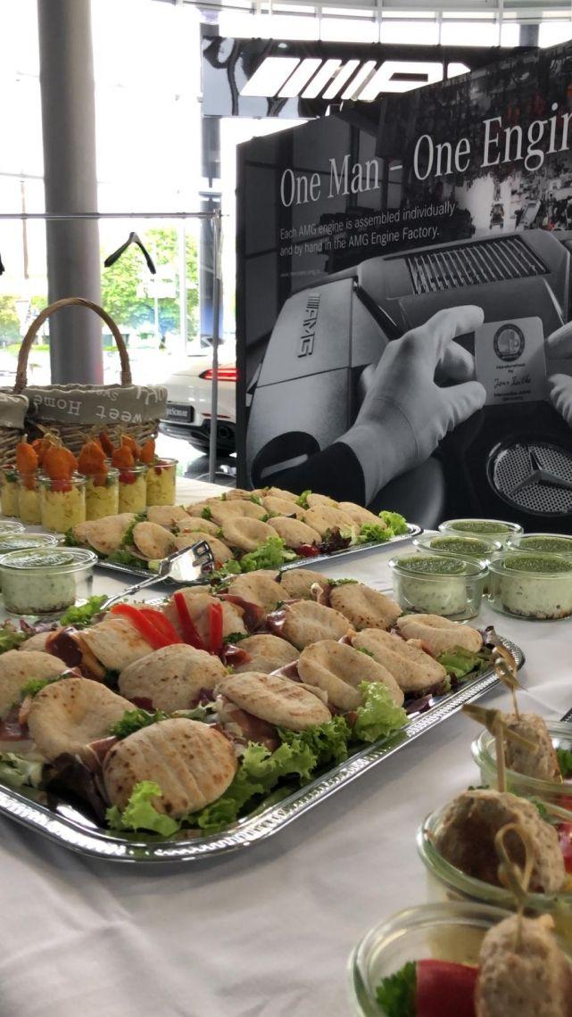 Catering für Firmenveranstaltung