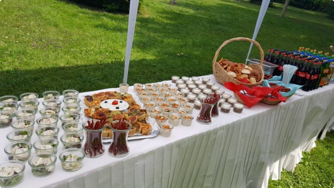 Sektempfang Catering