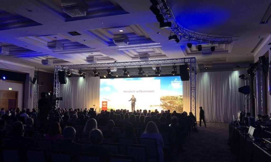 Konferenz - Bühnensetup