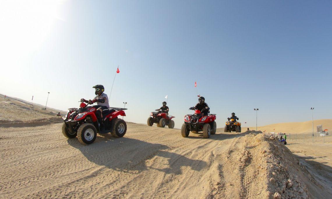 Baustelle - Wüste - Quad - Strecken
