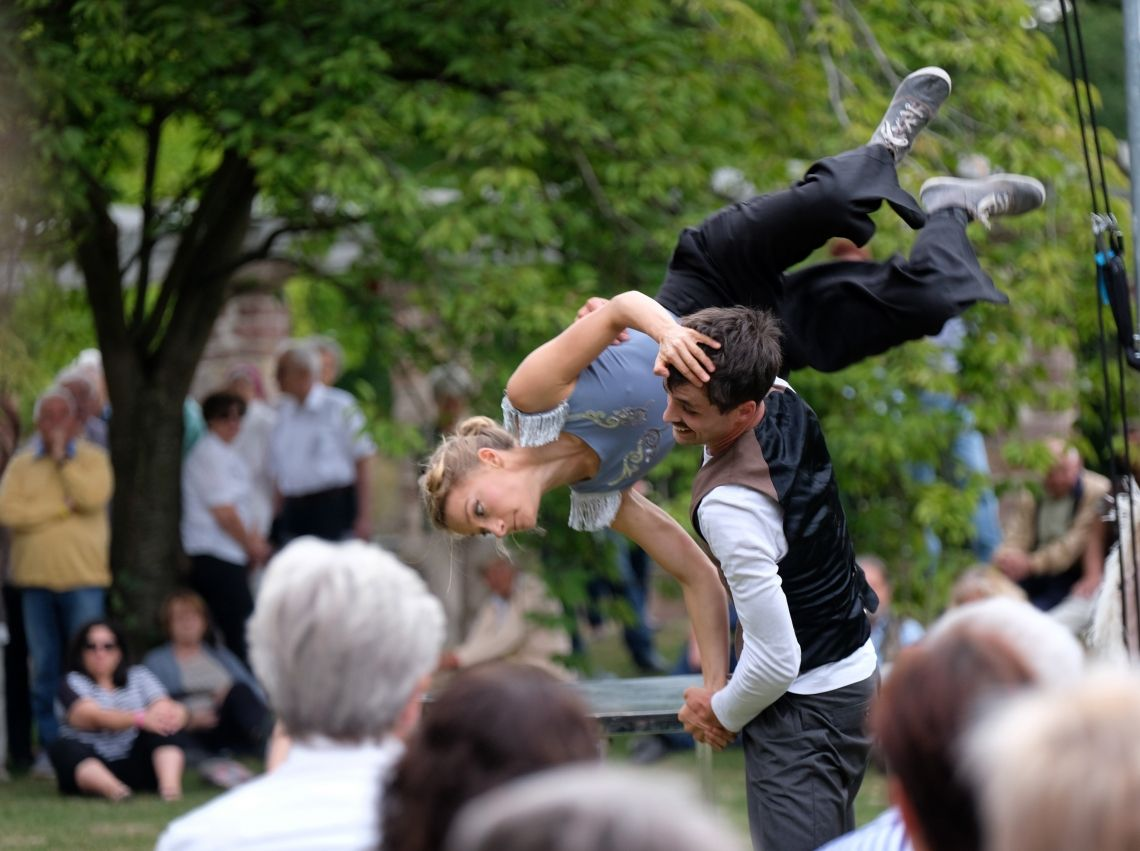 Swing Dance, Partnerakrobatik