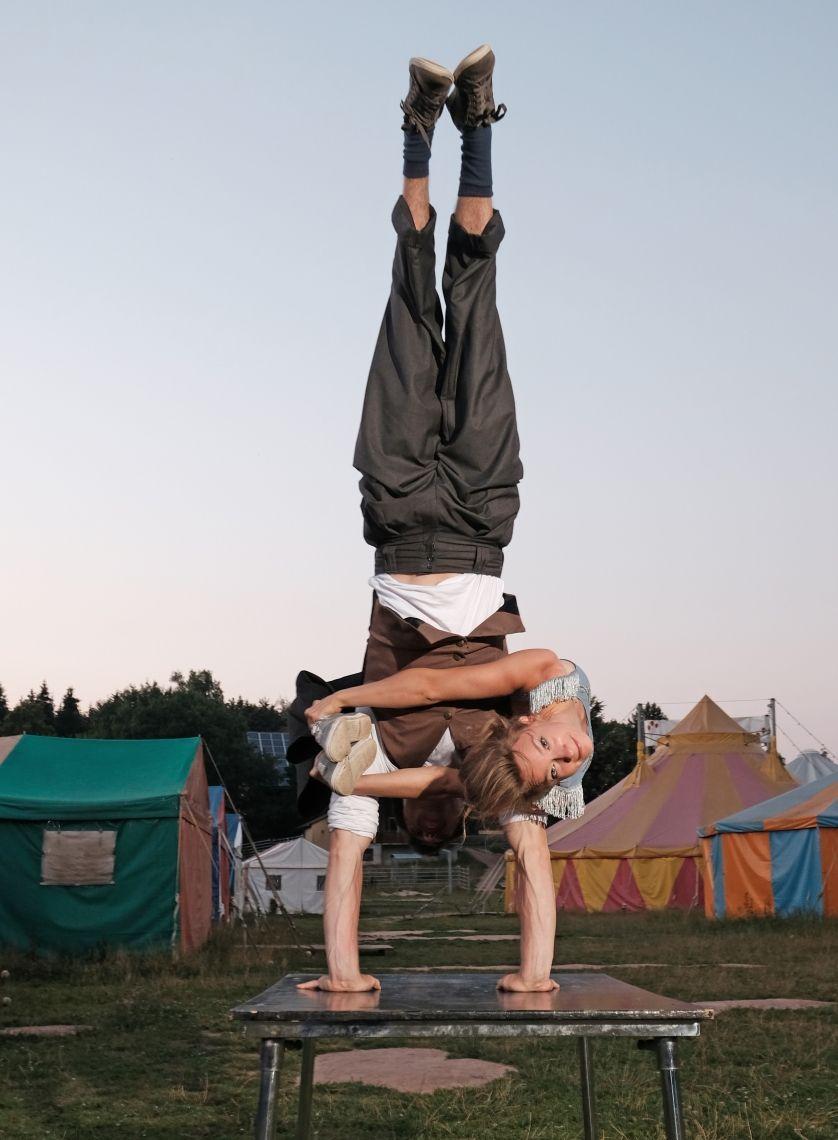 Partnerakrobatik