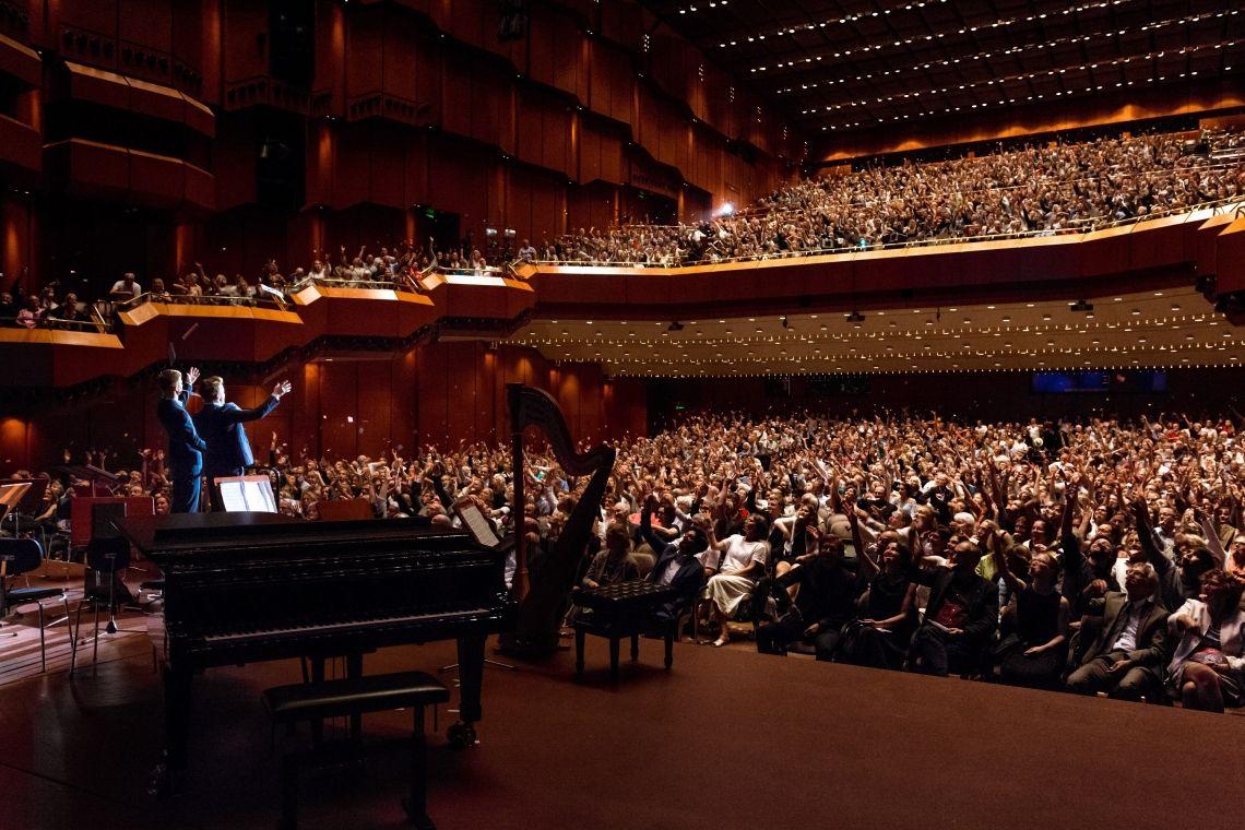 Showtime in der Alten Oper Frankfurt mit 2500 Zuschauern