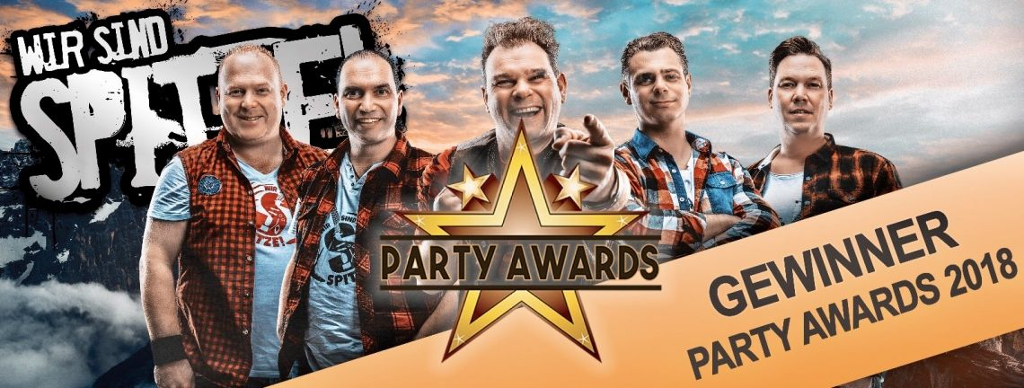 GEWINNER DES PARTY AWARD 2018