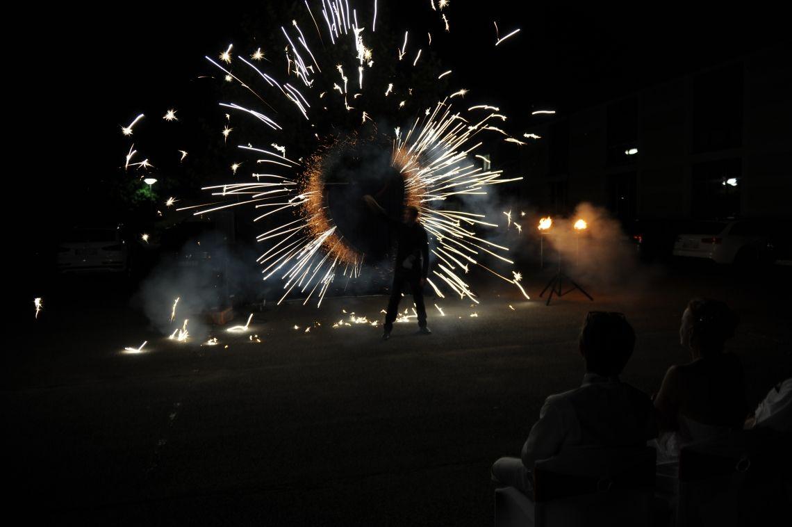 Licht- und Feuershow - Pyro