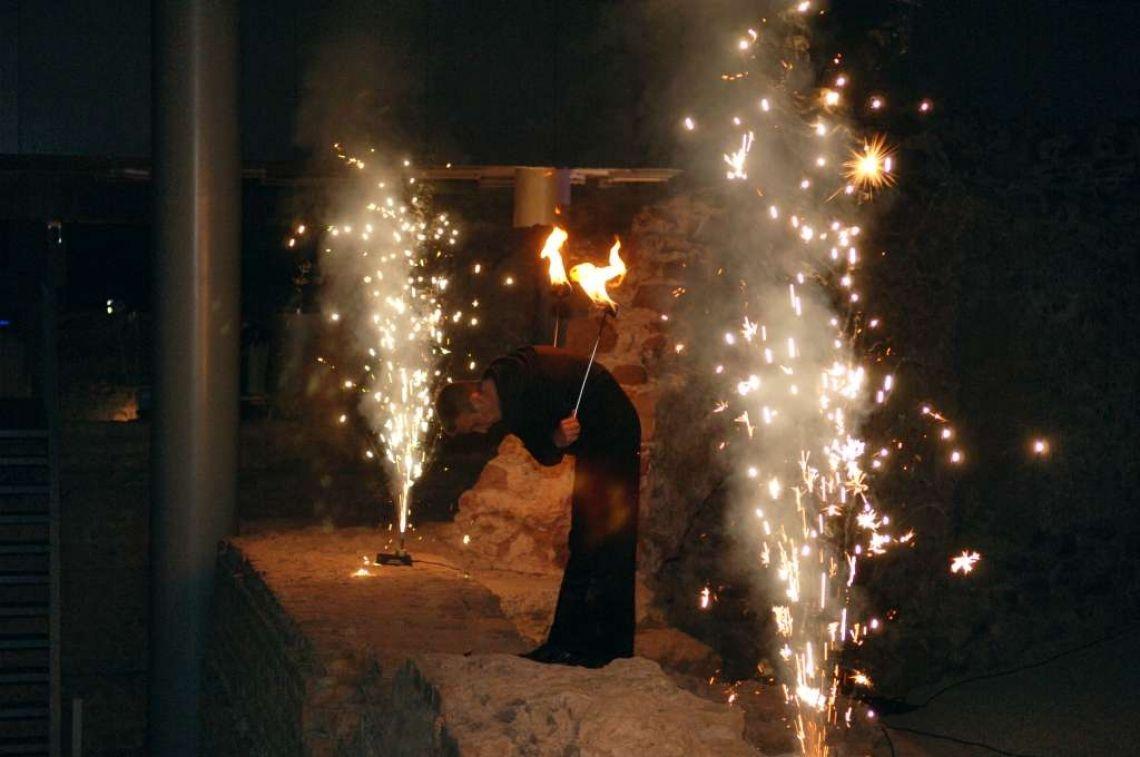 Licht- und Feuershow