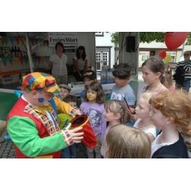 Clown Peppino Kinderanimation, Clown, Ballonmodellage