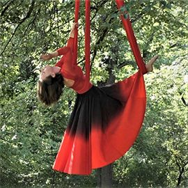 Just Mary - Dance Silk & Lyra Hoop