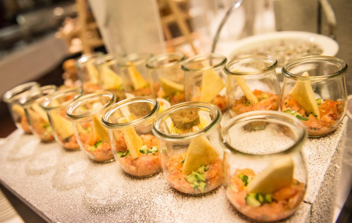 Catering in der FILDERHALLE Wir verwöhnen Sie kulinarisch mit unserer hauseigenen Gastronomie.