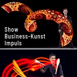 christoph rummel - eventjonglage showacts | lichtjonglage | comedy