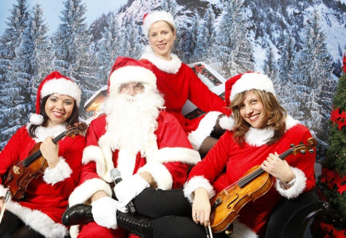 Nikolauskostüme ...mit musikalischem Weihnachtsprogramm