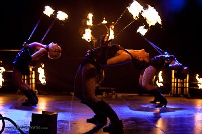 "Feuershow ""Mystique"" Livebild der einmaligen Feuershow ""Mystique"""