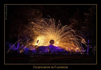Felsenmeer in Flammen Felsenmeer in Flammen