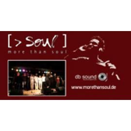 [MORE THAN SOUL] - die Exklusivband! Dinner - Gala - Party