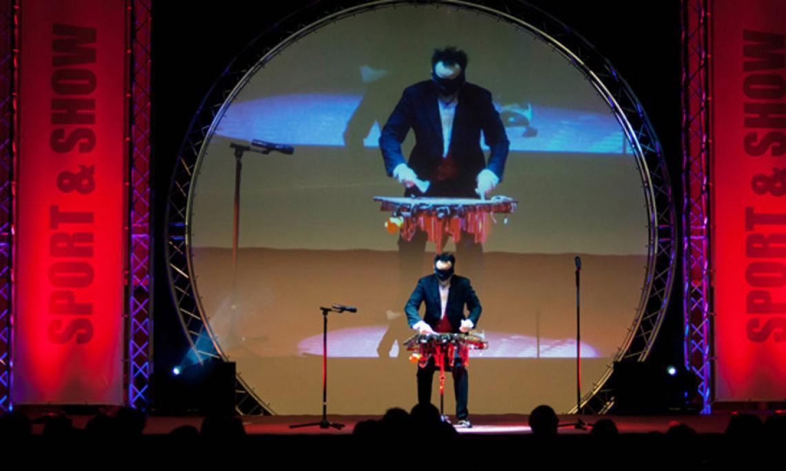 Musik Comedy Show bei Sport Gala