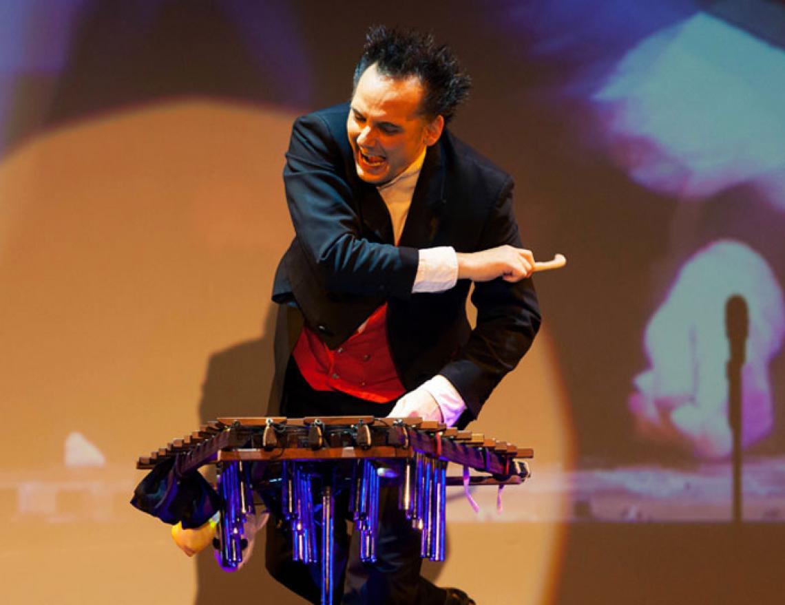 Virtuoser Xylophonist | Dirk Scheffel